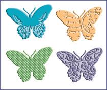 butterflies Die Cut